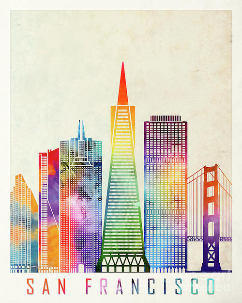 san-francisco-landmarks-watercolor-poster-pablo-romero